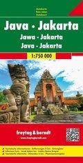 Freytag & Berndt Autokarte Java, Jakarta; Jawa, Jakarta