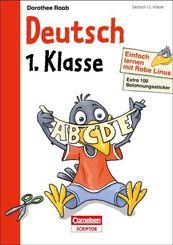 Einfach lernen mit Rabe Linus: Deutsch 1. Klasse