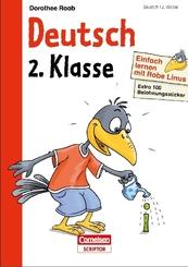 Einfach lernen mit Rabe Linus: Deutsch 2. Klasse