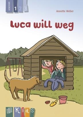 Luca will weg - Lesestufe 1