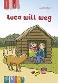 Luca will weg - Lesestufe 2