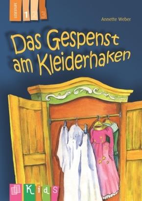 Das Gespenst am Kleiderhaken - Lesestufe 1