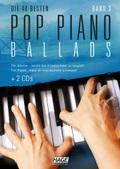 Die 40 besten Pop Piano Ballads, m. 2 Audio-CDs - Bd.3