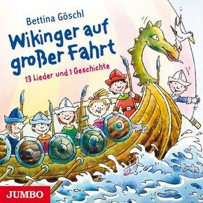 Wikinger auf großer Fahrt, 1 Audio-CD