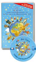 ABC der Tiere: Lieder und Kontrastpaare, Audio-CD + Der Film, DVD