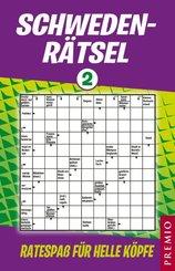 Schweden-Rätsel, Rätselspaß für helle Köpfe - Tl.2