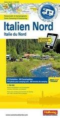 Promobil Reisemobil- & Campingkarte Italien Nord; Promobil Carte Camping & Caravaning Italie du Nord; Promobil Carte die