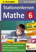 Kohls Stationenlernen Mathe: 6. Schuljahr