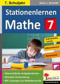 Kohls Stationenlernen Mathe: 7. Schuljahr