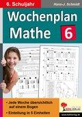 Wochenplan Mathe, 6. Schuljahr