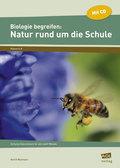 Biologie begreifen: Natur rund um die Schule, m. CD-ROM