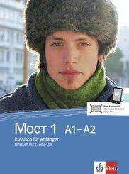 Moct 1 (A1-A2): Lehrbuch, m. 2 Audio-CDs, Überarbeitete Ausgabe; Bd.1
