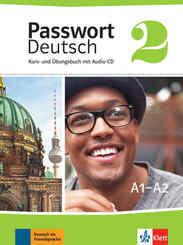 Passwort Deutsch, Neue Ausgabe: Kurs- und Übungsbuch, m. Audio-CD; 2