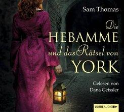 Die Hebamme und das Rätsel von York, 6 Audio-CDs
