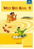 Welt der Zahl, Ausgabe 2014 für Bayern: 1. Schuljahr, Arbeitsheft