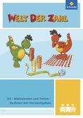 Welt der Zahl - Inklusionsmaterialien: Malnehmen und Teilen - Rechnen mit Kernaufgaben; H.D2