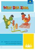 Welt der Zahl - Inklusionsmaterialien: Addieren und Subtrahieren mit zweistelligen Zahlen; H.D1
