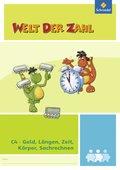 Welt der Zahl - Inklusionsmaterialien: Geld, Längen, Zeit, Körper, Sachrechnen; H.C4