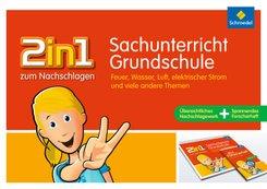 2in1 zum Nachschlagen, Grundschule: Sachunterricht Grundschule