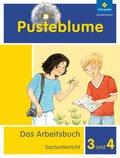 Pusteblume. Das Arbeitsbuch Sachunterricht, Allgemeine Ausgabe 2013: Arbeitsbuch 3 und 4