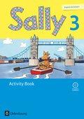 Sally, Ab Klasse 3, Neubearbeitung: 3. Schuljahr, Activity Book mit Audio-CD