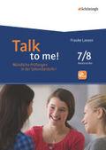 Talk to me!: 7./8. Schuljahr, m. CD-ROM