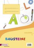 BAUSTEINE Fibel, Ausgabe 2014: Lesemalblätter