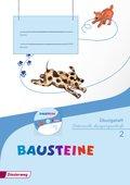 BAUSTEINE Sprachbuch, Ausgabe 2014: 2. Schuljahr, Übungsheft Lateinische Ausgangsschrift, m. CD-ROM
