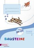 BAUSTEINE Sprachbuch, Ausgabe 2014: 2. Schuljahr, Übungsheft Grundschrift, m. CD-ROM