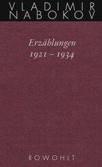 Erzählungen 1921 - 1934 - Tl.1