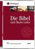 Die Bibel nach Martin Luther, m. Apokryphen, 1 DVD-ROM