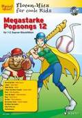 Megastarke Popsongs, 1-2 Sopran-Blockflöten, m. Audio-CD - Bd.12