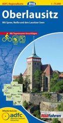 ADFC Regionalkarte Oberlausitz