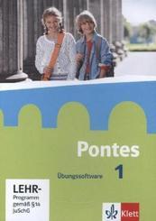 Pontes, Latein für Gymnasien: Übungssoftware, CD-ROM; Bd.1