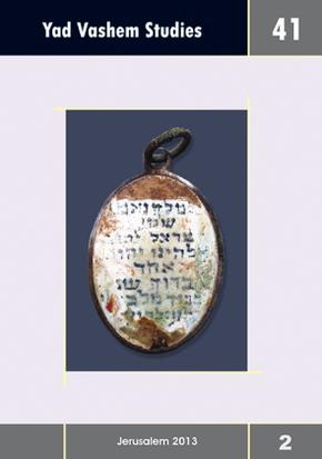 Yad Vashem Studies - Vol.41/2