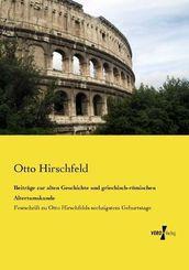 Beiträge zur alten Geschichte und griechisch-römischen Altertumskunde
