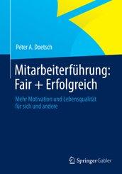 Mitarbeiterführung: Fair + Erfolgreich