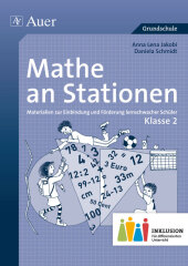 Mathe an Stationen, Klasse 2 Inklusion