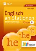 Englisch an Stationen, Klasse 6 Inklusion, m. CD-ROM