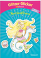 Glitzer-Sticker Malbuch. Meerjungfrauen