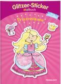 Glitzer-Sticker Malbuch. Prinzessinnen