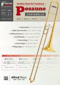 Zugtabelle Posaune / Position Chart for Trombone, für Bass-, Tenor- und Ventilposaune (inklusive Quartventil)