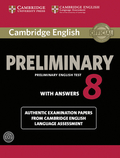 Cambridge English Preliminary 8: Student's Book with answers and 2 Audio-CDs