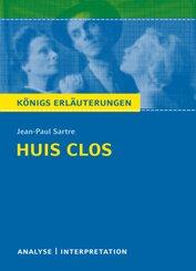 Huis clos (Geschlossene Gesellschaft) von Jean-Paul Sartre