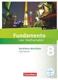 Fundamente der Mathematik, Gymnasium Nordrhein-Westfalen: 8. Schuljahr, Schülerbuch