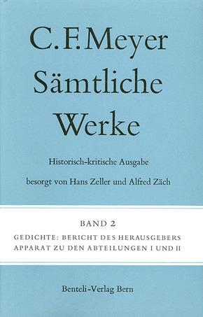 Sämtliche Werke. Historisch-kritische Ausgabe: Gedichte
