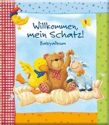 Willkommen, mein Schatz! Babyalbum