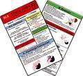 Erste Hilfe - BLS - aktuelle Richtlinien, Medizinische Taschen-Karte