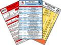 Notarzt Karten-Set - Notfallmedikamente Set,  Herzrhythmusstörungen, Beatmung - Leitfaden für Oxygenierungs-Störungen, E