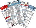 Altenpflege Karten-Set - Erste Hilfe, Medizinische Abkürzungen, Medikamente - Haltbarkeit nach Anbruch, Laborwerte, 4 Me